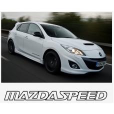 Mazda Speed bočna set naljepnica 400mm