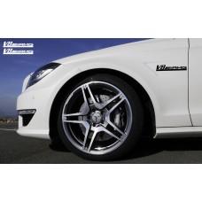 Mercedes AMG V6 bočne naljepnica 200mm