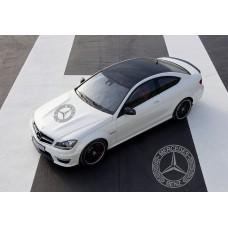 Mercedes Benz AMG pokrovna naljepnica 58cm V.1