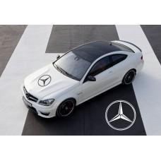 Mercedes Benz AMG pokrovna naljepnica 58cm V.2