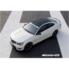Mercedes Benz AMG vjetrobranska naljepnica