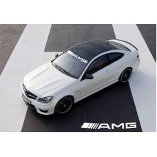 Mercedes Benz AMG vjetrobranska naljepnica 950mm