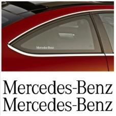 Mercedes Benz bočna naljepnica 2kom. set 13cm