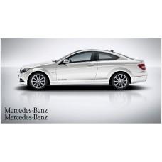Mercedes Benz bočne naljepnice 40cm 2 kom. set