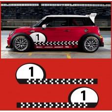 MINI Challenge Cooper S bočna set naljepnica Racing Race