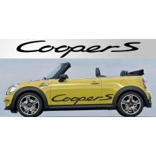Mini Cooper Vinyl naljepnica  vjetrobranska