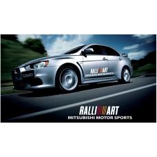 Mitsubishi Lancer Evolution Rally Art bočne naljepnice 1200mm 2kom. kit