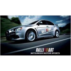Mitsubishi Lancer Evolution Rally Art bočne naljepnice 1800mm 2kom. kit
