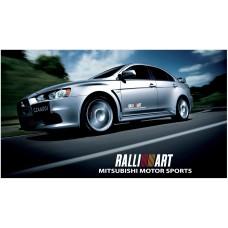 Mitsubishi Lancer Evolution Rally Art bočne naljepnice 500mm 2kom. kit
