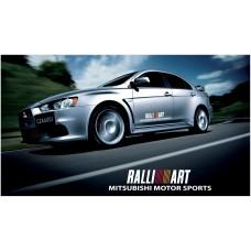 Mitsubishi Lancer Evolution Rally Art bočne naljepnice 900mm 2kom. kit