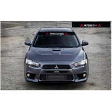 Mitsubishi Motorsport vjetrobranska naljepnica 1400mm