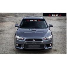 Mitsubishi Ralli Art Motorsport vjetrobranska naljepnica 1400mm