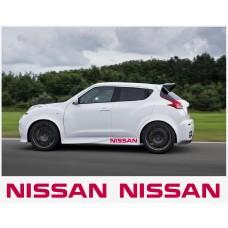 Nissan Juke Nismo motorsport bočne naljepnica 100cm 2 kom.