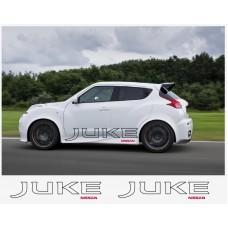 Nissan Juke Nismo motorsport bočne naljepnica 150cm 2 kom.