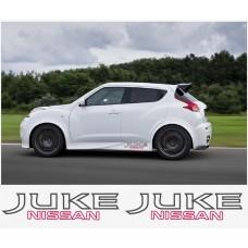 Nissan Juke Nismo motorsport bočne naljepnica 50cm 2 kom.