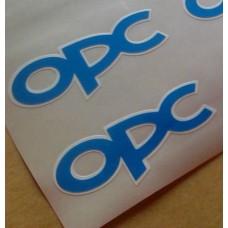 OPC bočne naljepnica 2x 73mm Opel