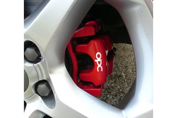 OPC naljepnica za kočiona kliješta set naljepnica Opel