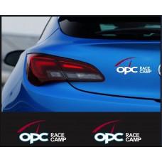 OPC Race Camp naljepnica za prtljažnik naljepnica bočne set naljepnica 15cm 2 kom.
