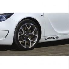 Opel bočne set naljepnica