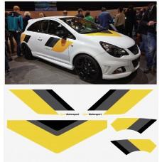 Opel Corsa Motorsport set 5 kom.