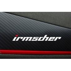 Opel Irmscher naljepnica x2