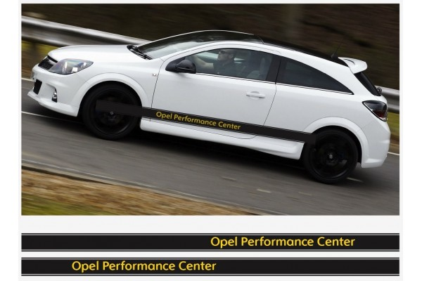 Opel OPC bočne naljepnica pruge 2 kom. set 225cm