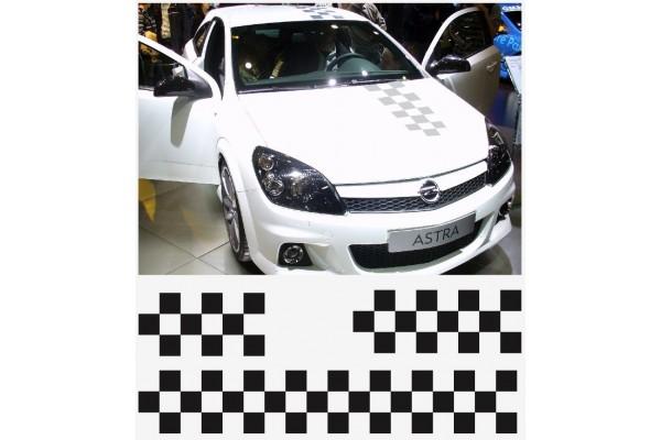 Opel OPC naljepnica za haubu krovna naljepnica za prtljažnik pruge set