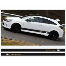 Opel Performance OPC bočne naljepnica pruge 2 kom. set 225cm