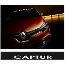 Renault Capture vjetrobranska naljepnica