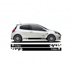 Renault clio bočne naljepnice set naljepnica