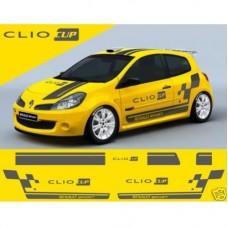 Renault Clio Cup racing pruge Racing pruge set naljepnica 8 kom.
