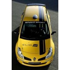 Renault Clio Cup Sport Team set naljepnica