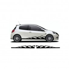 Renault clio custom bočna graphic