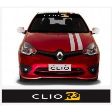 Renault Clio R3 vjetrobranska naljepnica