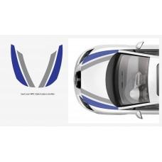 Seat Leon WRC pokrovna stripes 4kom. Kit