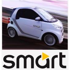 Smart Logo bočne naljepnica 2 kom. set 35cm
