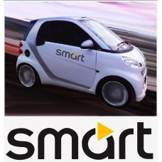 Smart Logo bočne naljepnica 2 kom. set 50cm