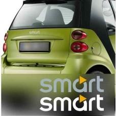 Smart naljepnica Emblem 2 kom. set 80mm - 200mm