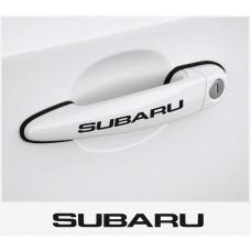 Subaru naljepnica za kvaku - naljepnica za kočiona kliješta - felge - retrovizore 4 kom.