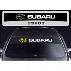 Subaru vjetrobranska naljepnica