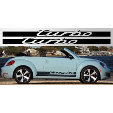 Volkswagen Beetle / Golf Turbo naljepnica vjetrobranska