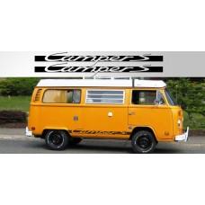 Volkswagen Camper S Vinyl naljepnica vjetrobranska