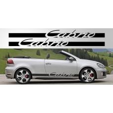 Volkswagen Golf Cabrio naljepnica vjetrobranska