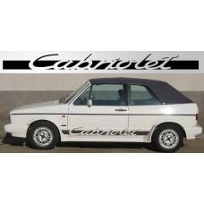 Volkswagen Golf Cabriolet naljepnica vjetrobranska