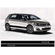 VW bočne naljepnica Racing pruge set naljepnica Golf Passat Lupo Polo Jetta