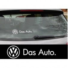 VW Das Auto naljepnica za prtljažnik naljepnica bočne naljepnica x2 Polo Golf Passat Lupo